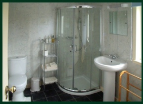 Enusuite shower room for Double room